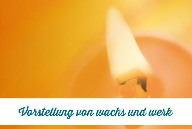 wachs und werk: Kreative Kerzengestaltung