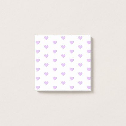 Purple Emoji Hearts Post-it Notes - valentines day gifts gift idea diy customize special couple love