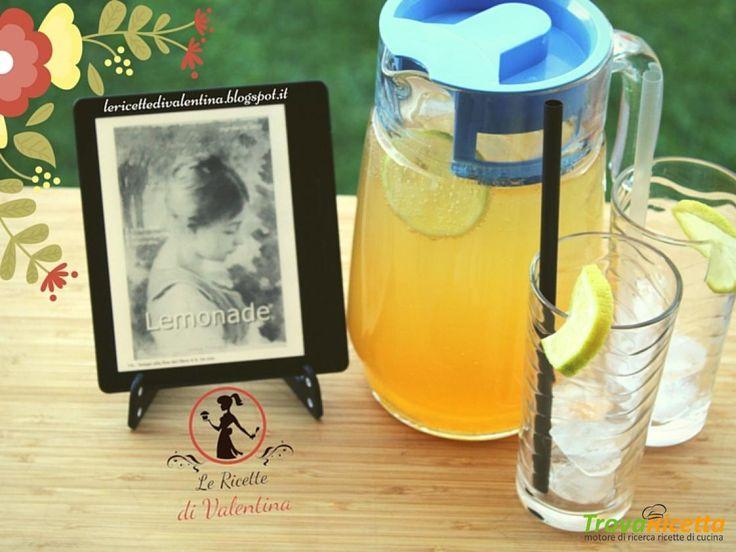 """MANGIA CIO' CHE LEGGI 80: Limonata frizzante con zucchero di canna ispirata da""""LEMONADE"""" di Nina Pennacchi  #ricette #food #recipes"""