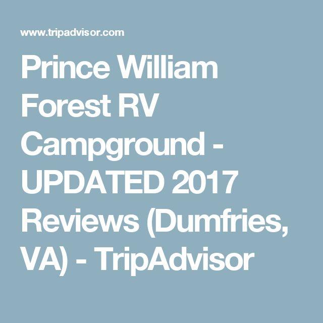 Prince William Forest RV Campground - UPDATED 2017 Reviews (Dumfries, VA) - TripAdvisor