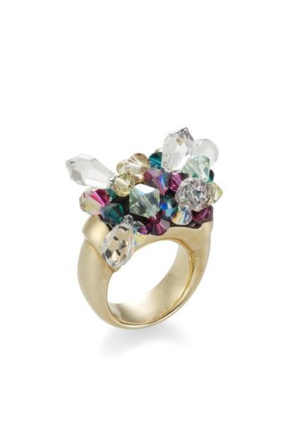 Mary Katrantzou x Atelier Swarovski ring