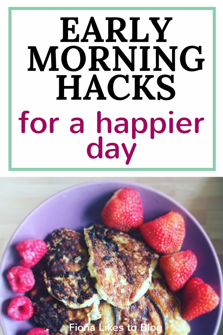 Looking for ways to improve your morning routine? Here are a few simple life hacks to improve your day from the early morning