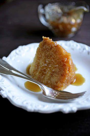 Golden Syrup English sponge pudding Recipe - British | Good Food