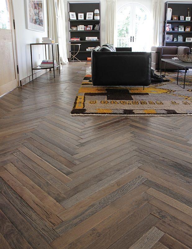 87 best herringbone chevron wood floors images on for Chevron laminate flooring