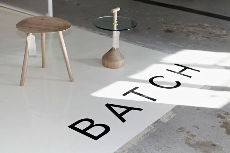 Llamas' valley blog - this makes me want to stencil big words on my floor.