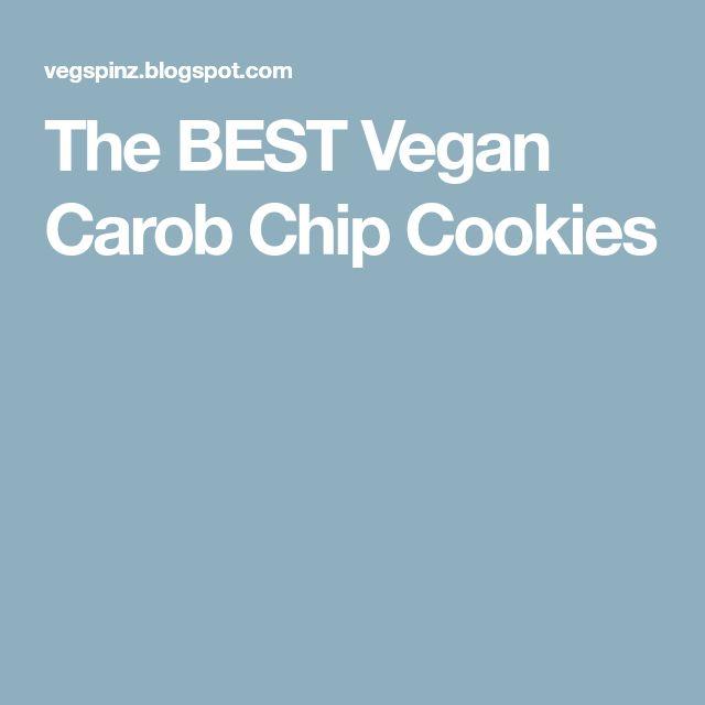 The BEST Vegan Carob Chip Cookies