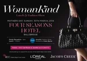 WomanKind Fashion Show & Lunch - 30th March 2014