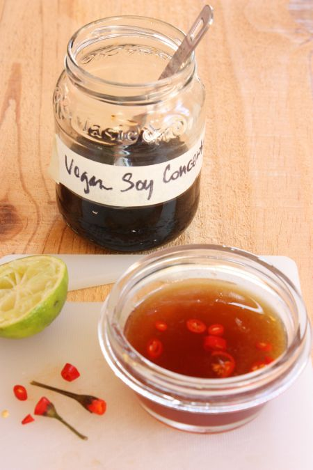 Vegetarian Fish Sauce Dipping Sauce