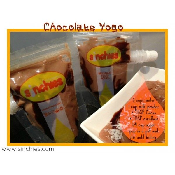 Chocolate Yogo Recipe By Sinchies: this is great for a dessert or lunch boxes for school or work.