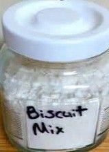 Grandma's Vintage Recipes: Homemade Biscuit Mix