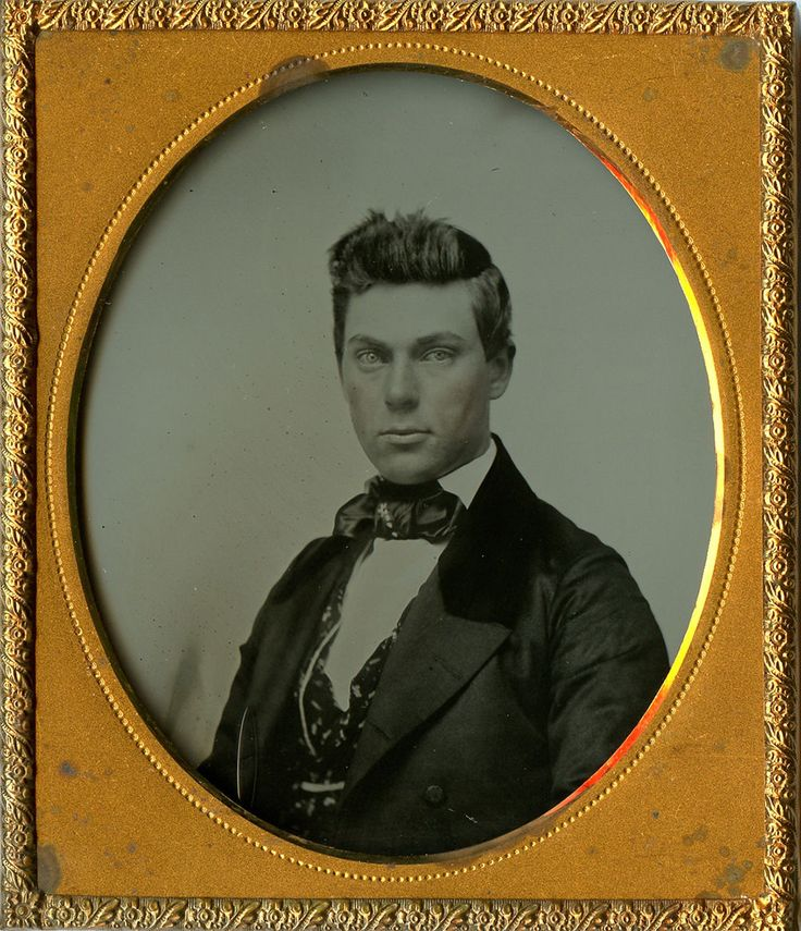 Cutting's Patent 1 6 Plate Ambrotype not Tintype Portrait of Handsome Gentleman