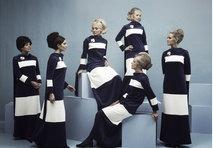 Finnair uniforms 1969