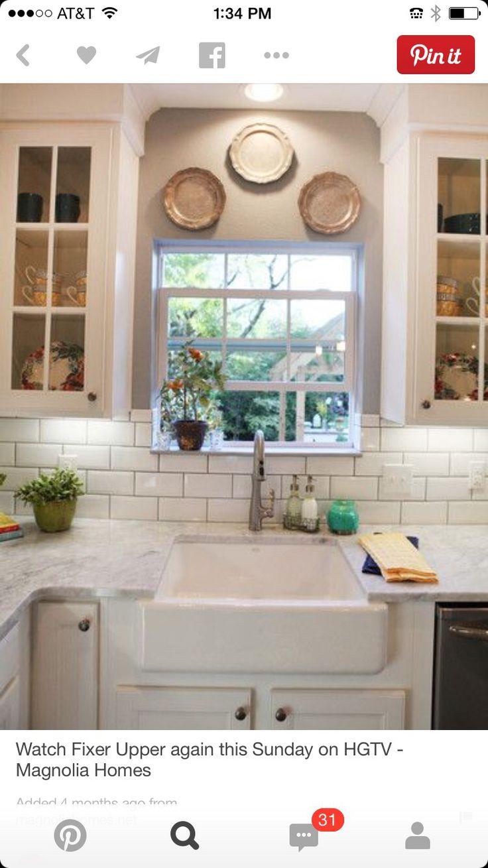 Fixer upper kitchen windows - Hgtv Fixer Upper Kitchens Fixer Upper Kitchen Ideas Kitchen Sink Window Ideas Kitchen Sinks Kitchen Windows Tile Around Window Kitchen Jam Kitchen