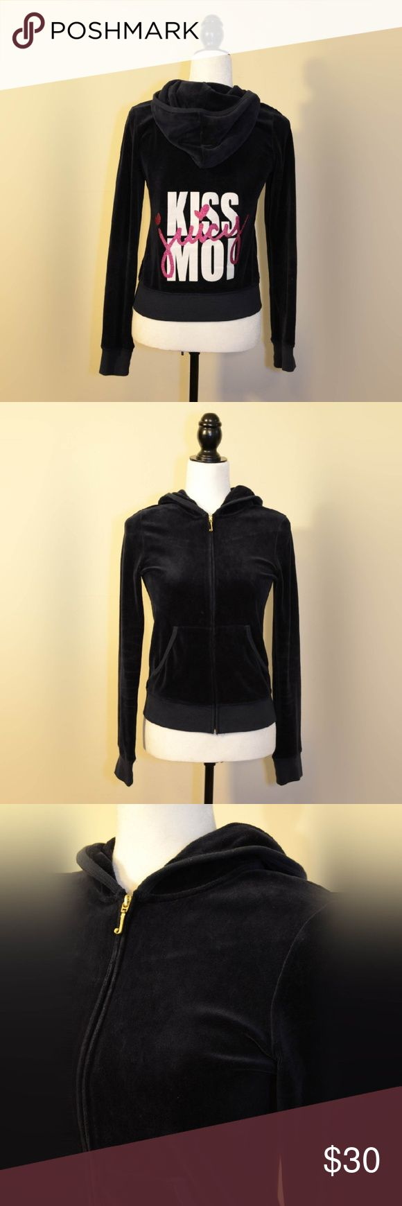 Juicy Couture Super Rare Velour Jacket Super cute and hard to find Juicy Couture velour jacket. Velour jackets are making a huge comeback and trending in 2017. Juicy Couture Jackets & Coats