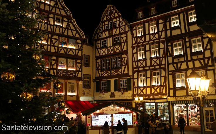 Mercado de Natal em Bernkastel-Kues na Alemanha