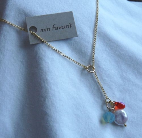MIN Favorit Hyacinth Czech Crystal Cultured Pearl Pacific Opal Lariat Necklace | eBay