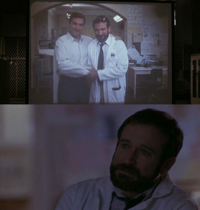 Robert De Niro e Robin Williams in Awakenings di Penny Marshall del 1990