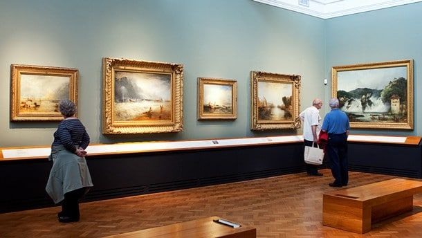 The genre of landscape paintings, its history with special emphasis on British artists John Constable and Joseph Mallord William Turner.