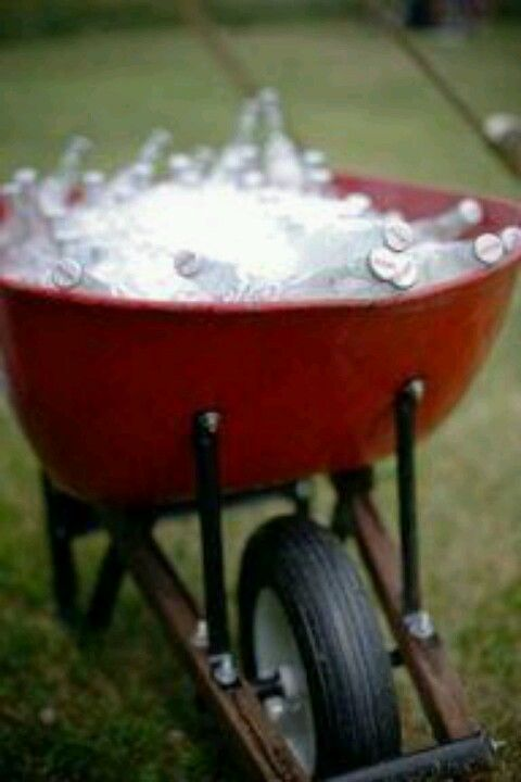 I'm doing this with a 60 year old wheelbarrow... was our son's great grandpa's. Love that.
