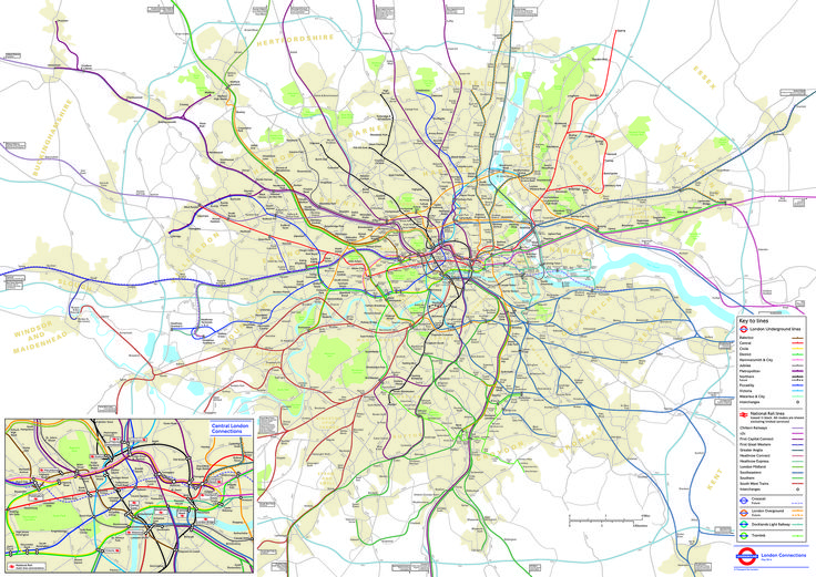 43 best maps images on pinterest maps cartography and cards london underground map that accurately depicts the distances and locations of stations in and around the gumiabroncs Image collections
