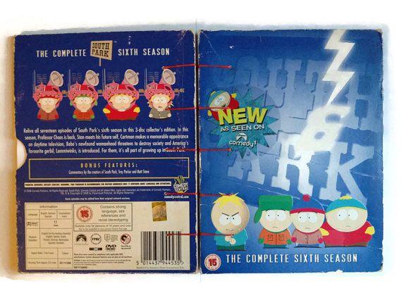 South Park coptic journal reworked DVD box season 6 by FuNkTjUnK