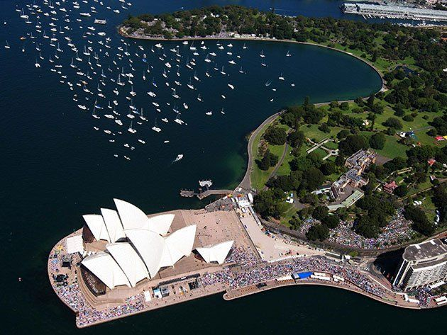 La Ópera de Sidney (Sidney, Australia) ... cheap hotels in #Sidney #Australia http://holipal.com/hotels/