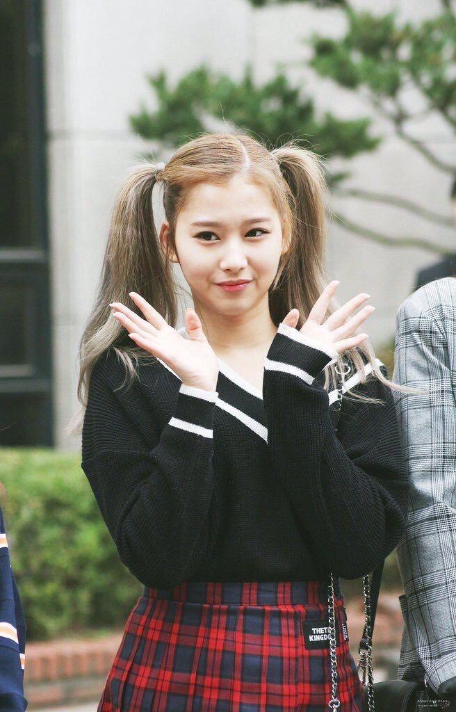 Twice sana hairstyle twin❤️