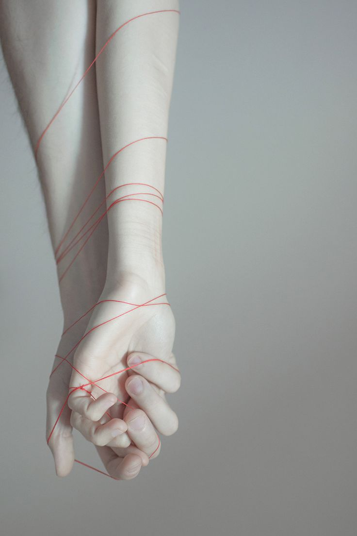 No mater how far the other person is, that red string is still connecting them together.