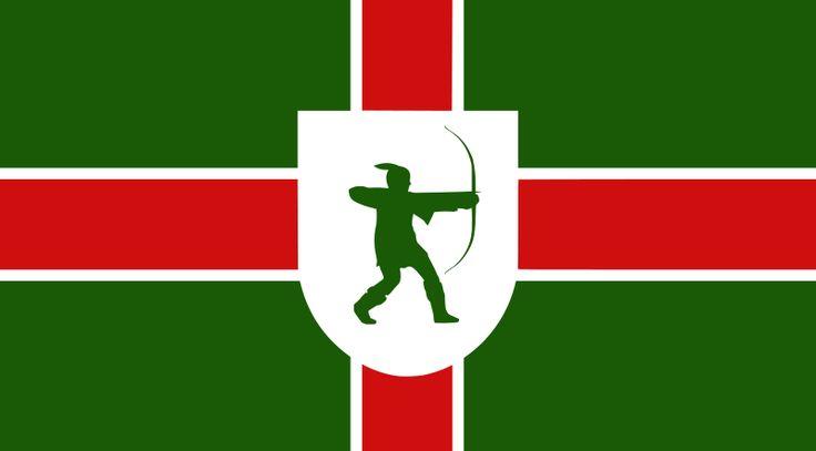 County Flag of Nottinghamshire
