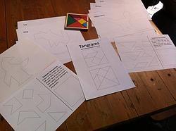 Tangrams + Printable Resources CD