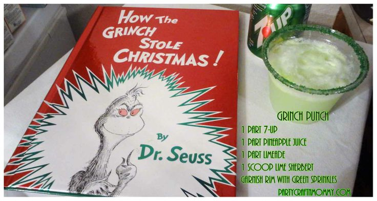 #Grinch Punch made our Xmas Eve story hour even more delightful as we read How the Grinch Stole Christmas!