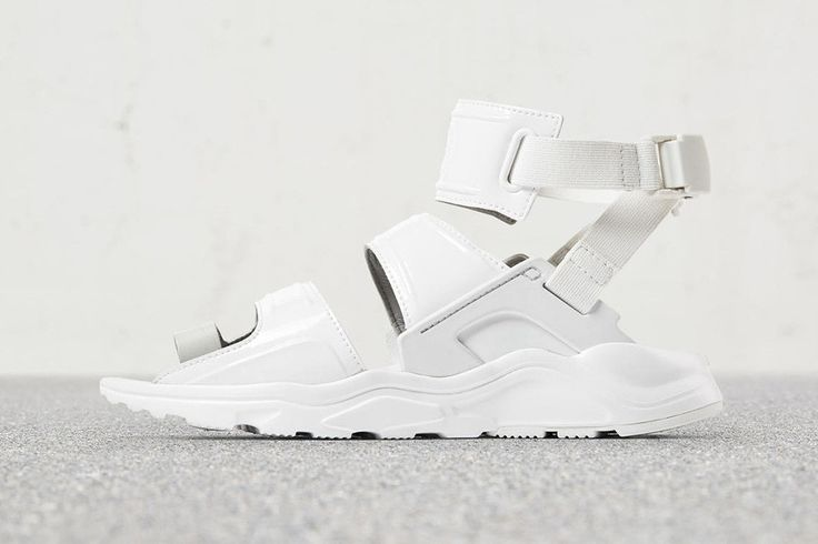 Sandals paired with socks is a definite vibe this summer, and now Nike is getting in on the act by slashing up its famed Huarache silhouette.