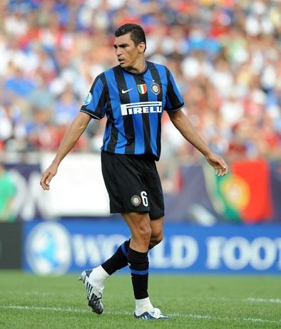 """Lúcio"" Lucimar Ferreira da Silva, Inter Milan (2009–2012, 96 apps, 3 goals)"