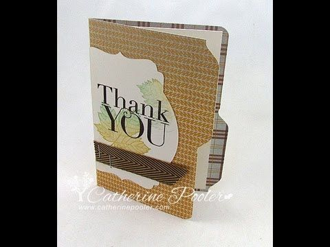Envelope Punch Board – File Folder Video Tutorial