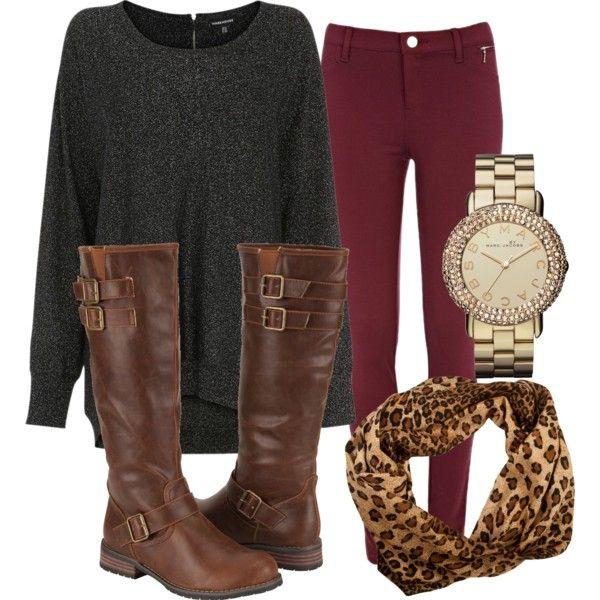 Simple, Yet Chic Fall Fashions.