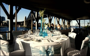 One of Sydney's most magical and breathtaking reception spaces.  Sydney The Sebel Pier One Sydney wedding receptions