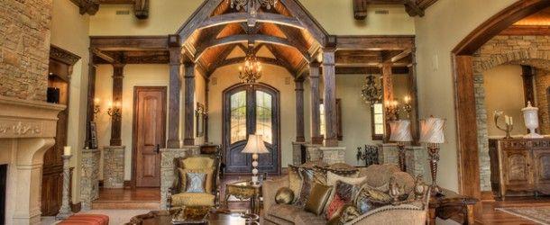 15 Stunning Tuscan Living Room Designs | Home Design Lover