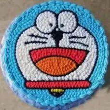 Doraemon Theme Cake