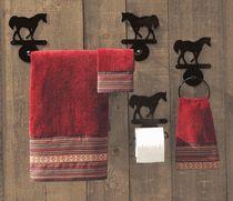 Rustic Bathroom Hardware U0026 Western Towel Bars From Lone Star Western Decor