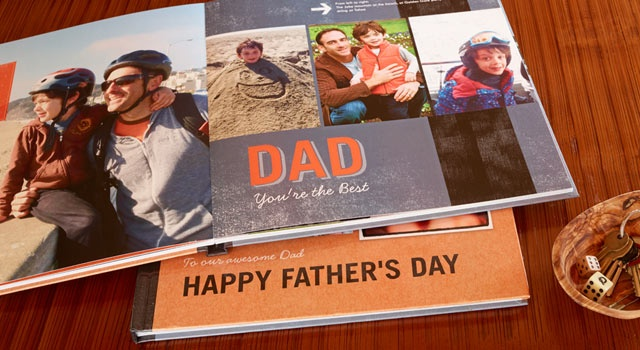 father's day photo book uk