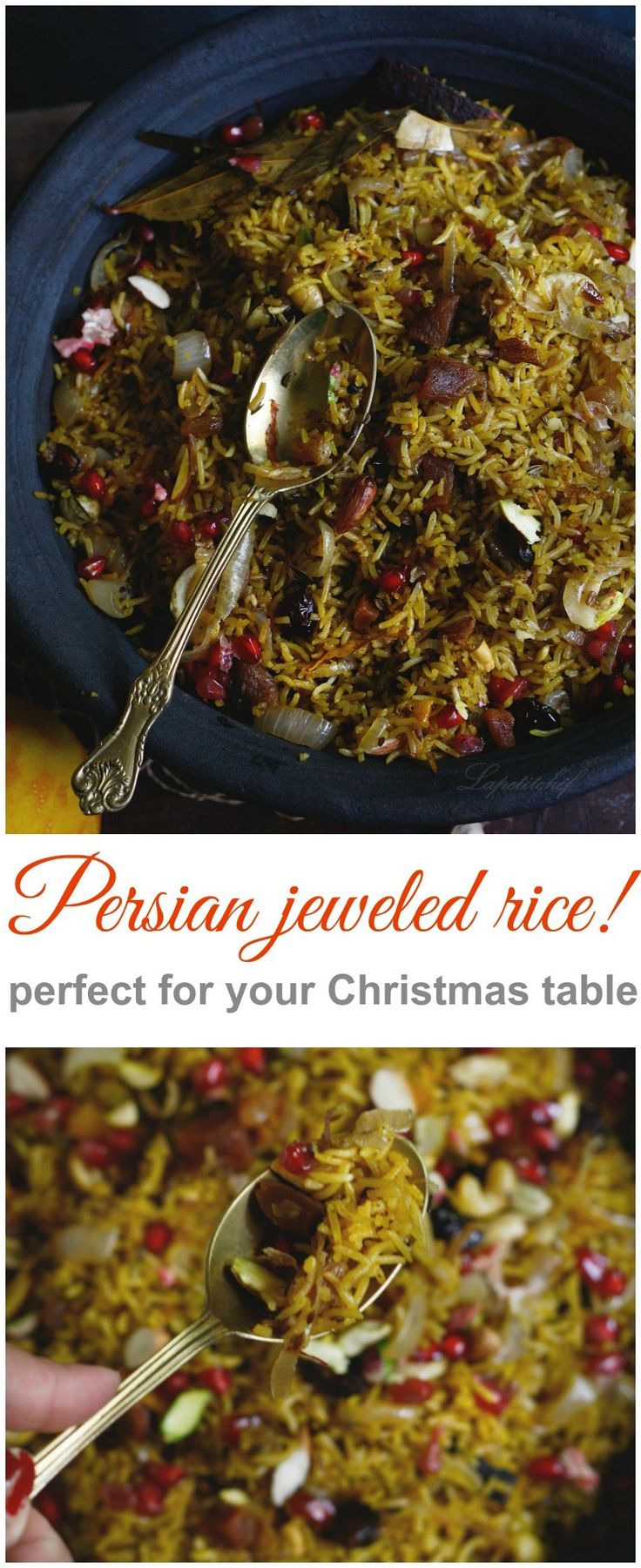 Organic Persian jeweled rice