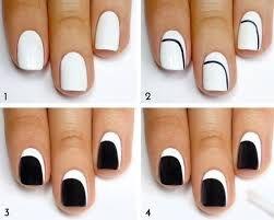 Resultado de imagen para como pintar las uñas con diseños faciles para uñas cortas