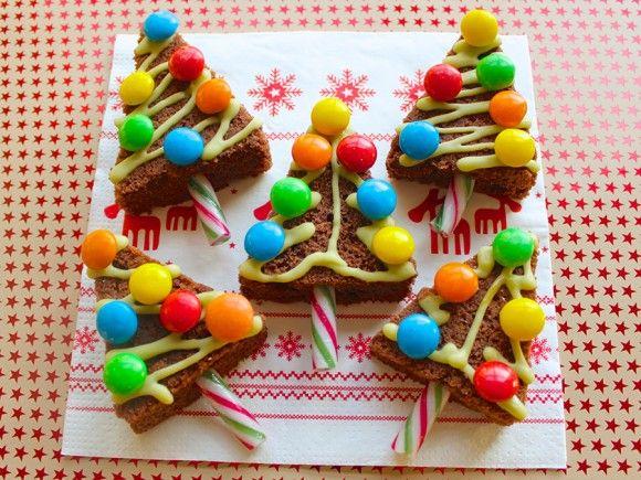 Cupcake Belle's Christmas Tree Cakes