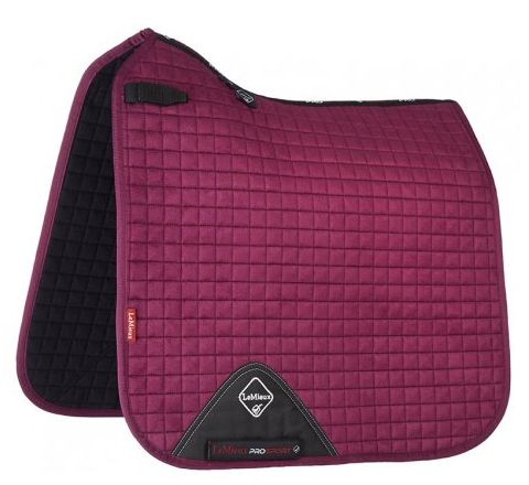 LeMieux autumn plum dressage square
