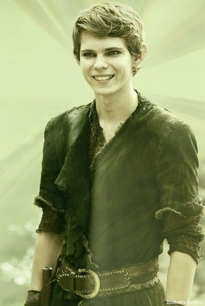 Robbie Kay as Peter Pan in ABC's Once Upon A Time tv show