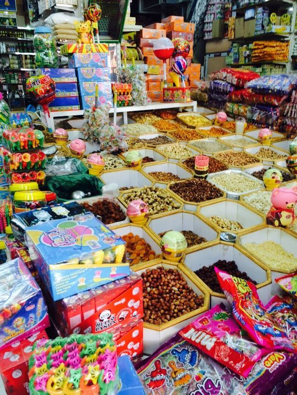 here is some nuts and sweets , what special about it its we use to eat