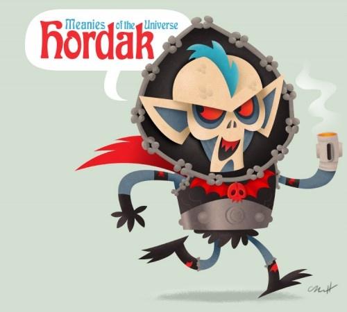 Hordak - Cute Meanies Of 1980′s Cartoons (by Matt Kaufenberg) #MOTU