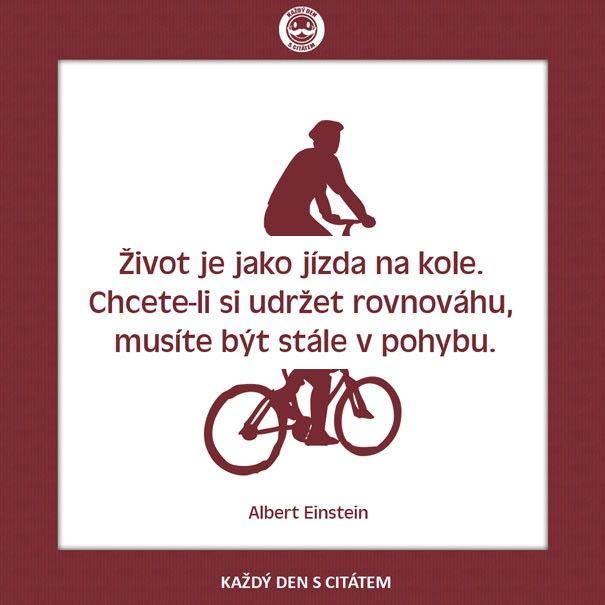 citáty - Život je jako jízda na kole2