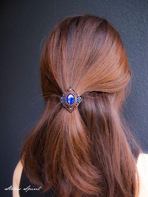 λάζουλι μακραμέ / Μαλλιά / μακραμέ πλέξιμο / λάπις