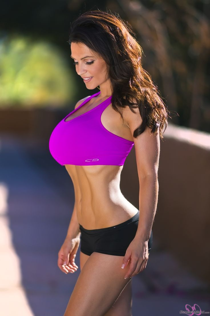 Denise Milani preview of her set Fitness Pink   Fitness ...